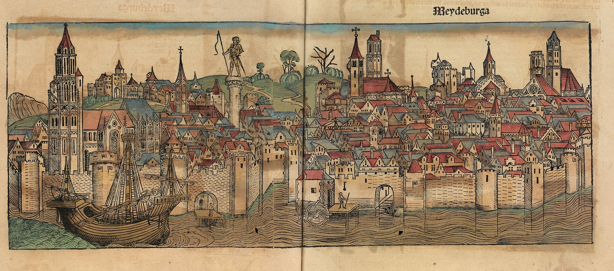 Nuremberg chronicles MEYDEBURGA min